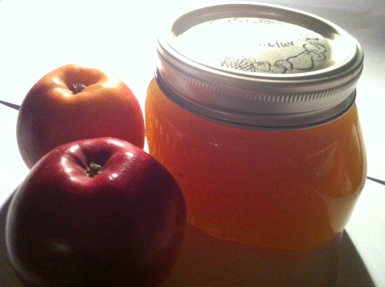 Apple-Banana-Vodka Jam